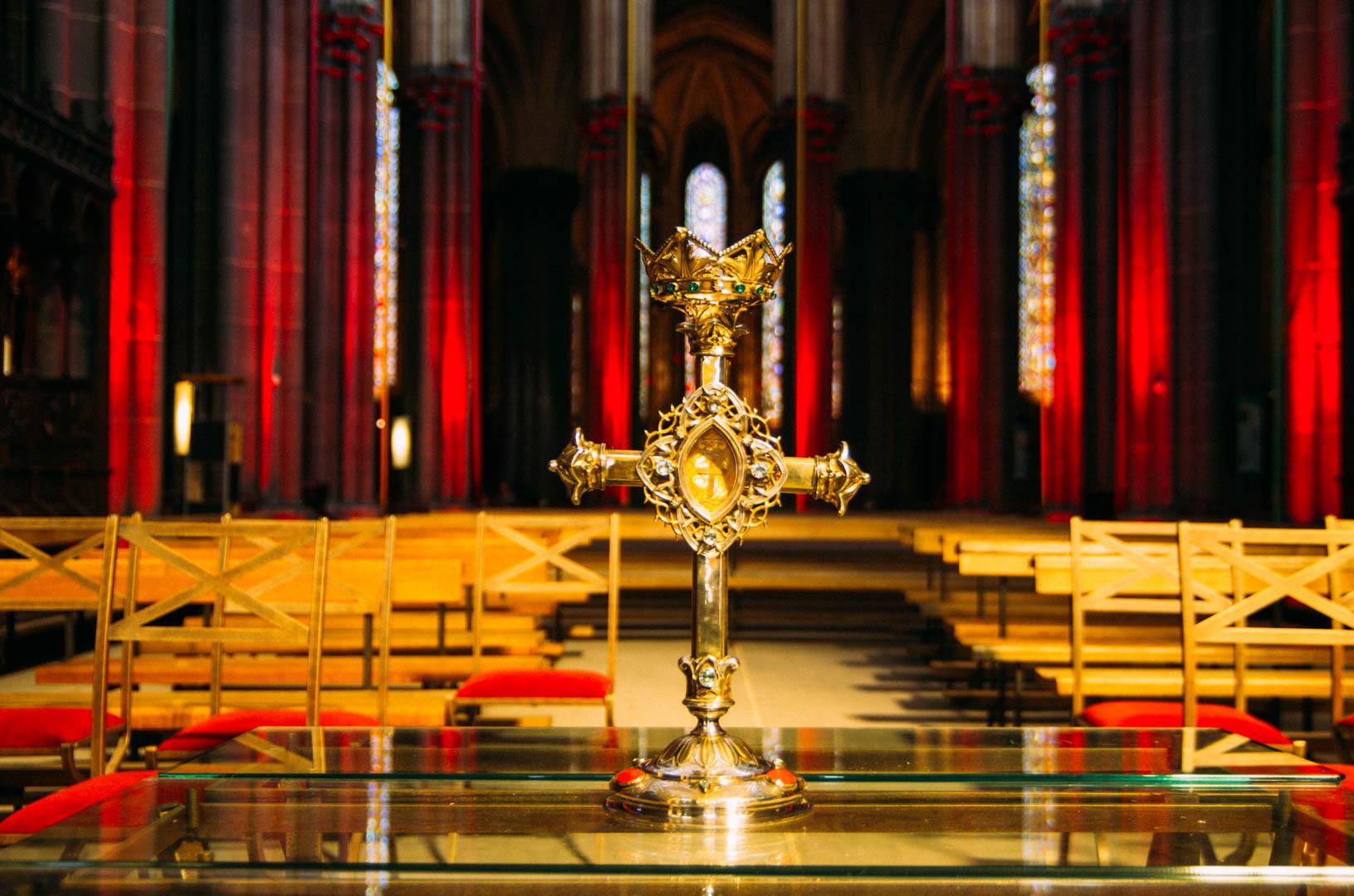 CHEMIN CROIX 2019 cathédrale notre dame de la treille 91