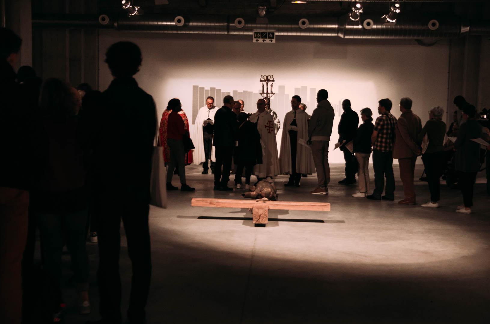 CHEMIN CROIX CENTRE 19 centre art sacré de lille cathédrale notre dame de la treille-42