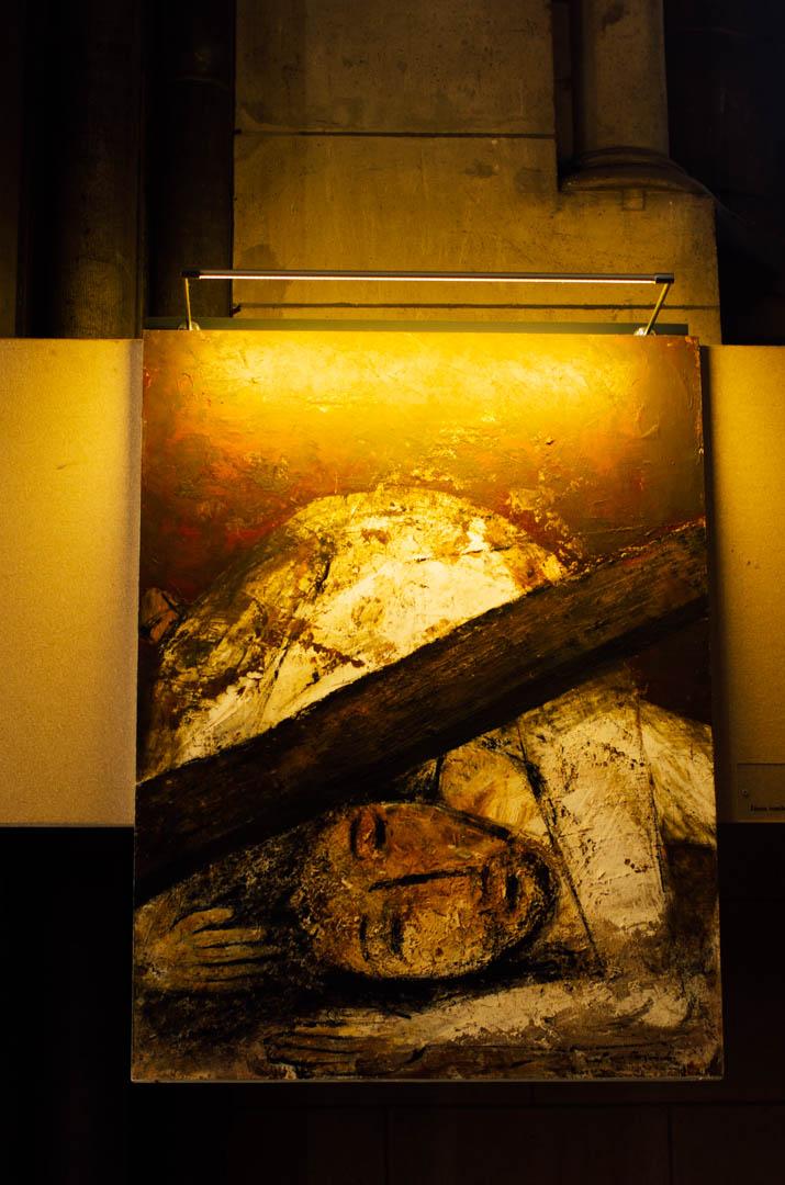 chemin de croix jean luc bonduau cathédrale notre dame de la treille lille 6152