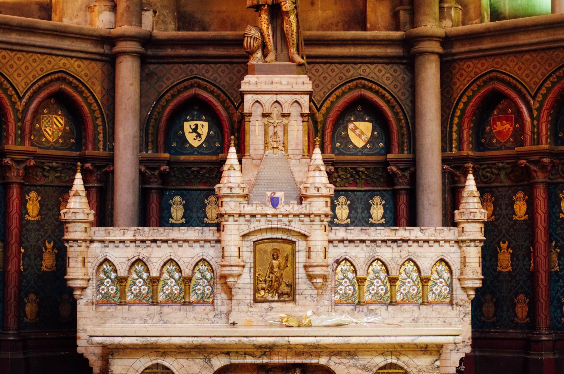 autel chapelle jeanne d'arc cathédrale notre dame de la treille lille 6084