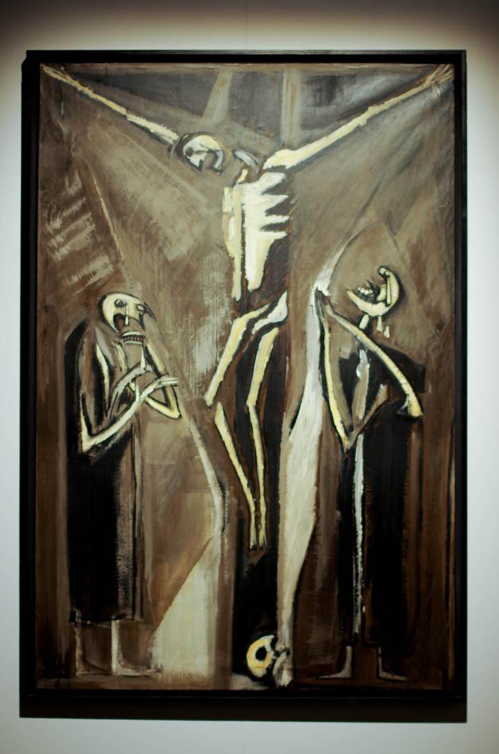 centre d'art sacre de lille crucifixions cathedrale notre dame de la treille  6019