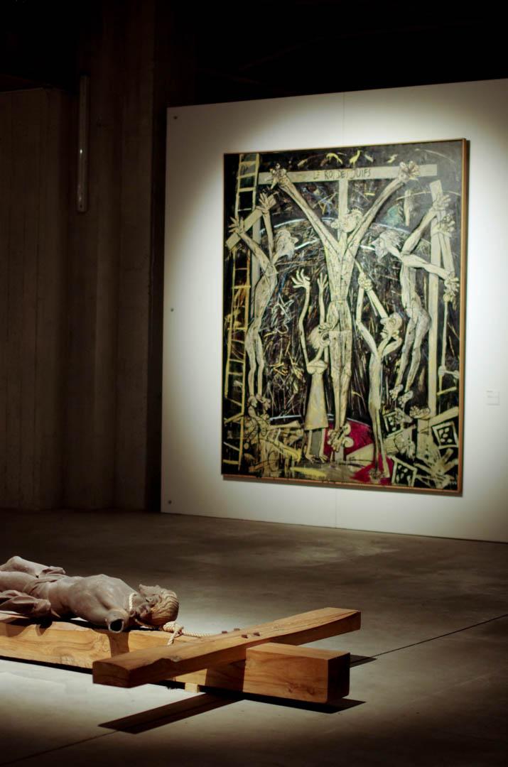 centre d'art sacre de lille crucifixions cathedrale notre dame de la treille 6069