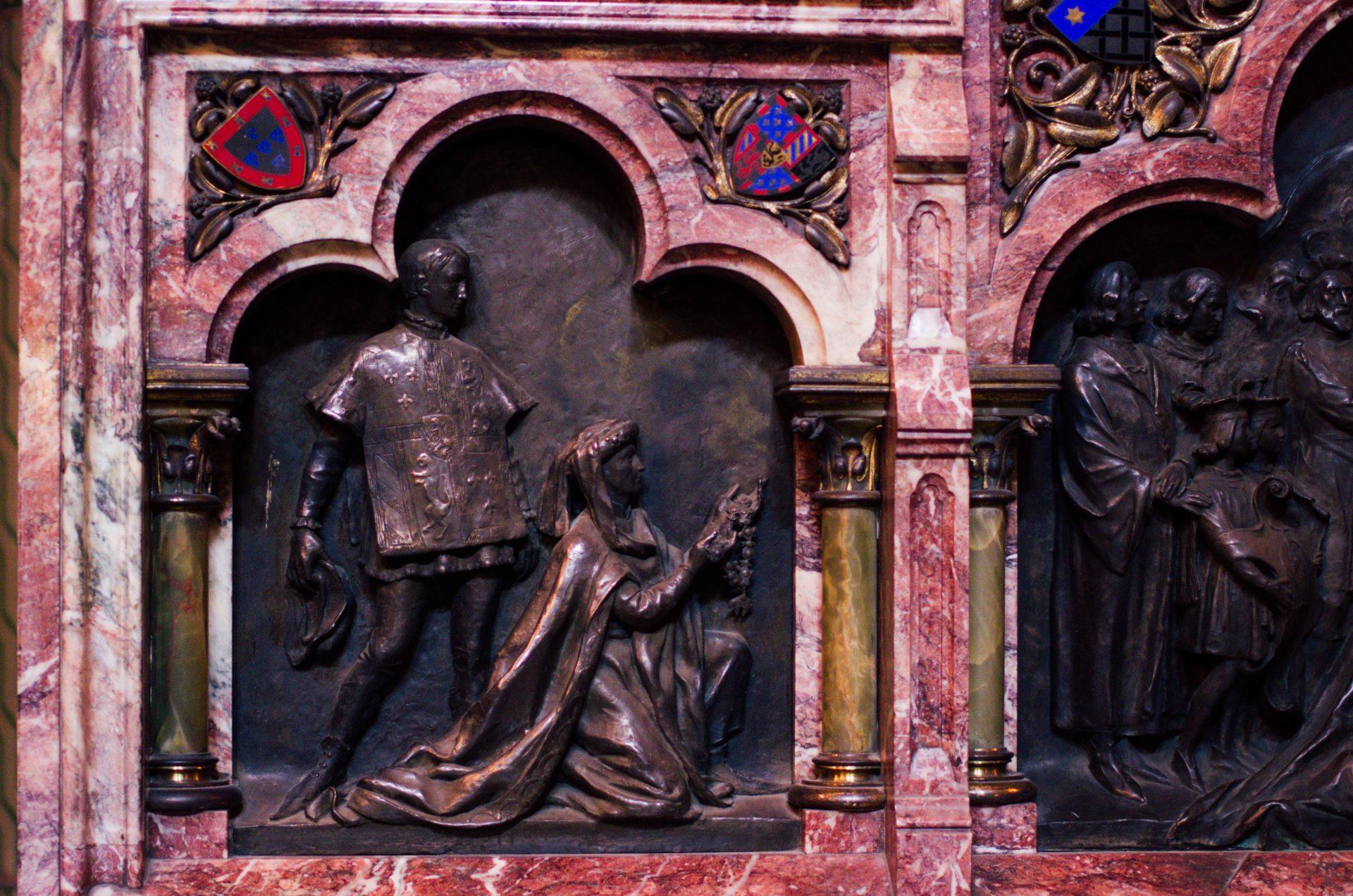 chapelle du bienheureux Charles le Bon autel cathédrale notre dame de la treille lille 6114