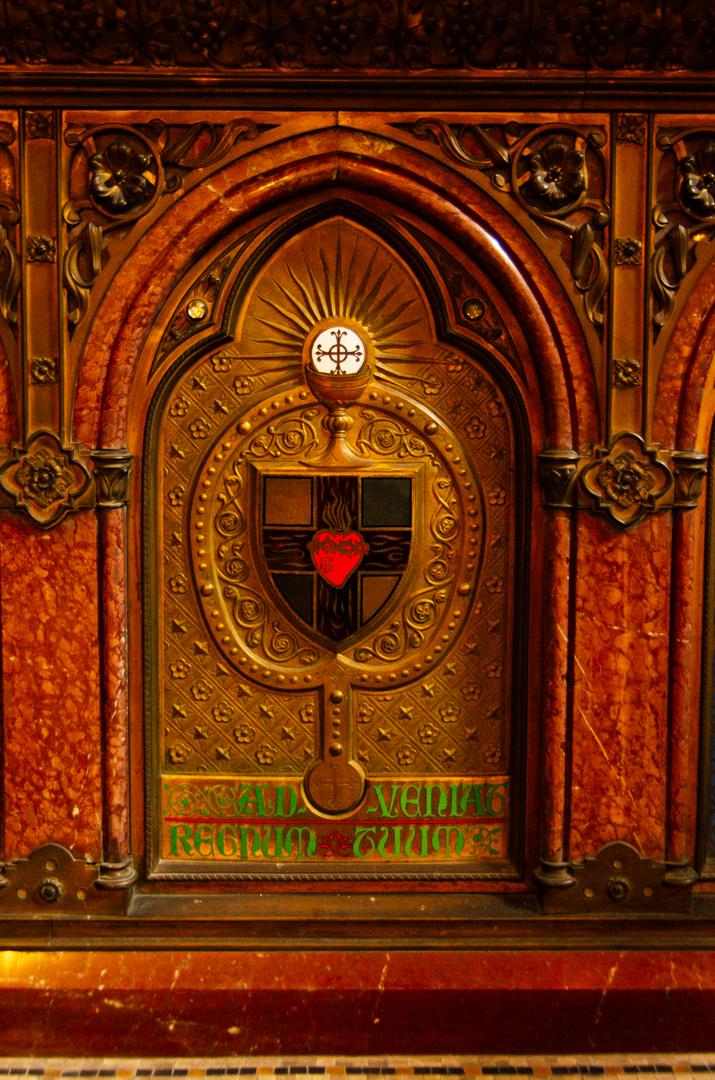 chapelle du sacre coeur tabernacle cathedrale notre dame de la treille lille 2451