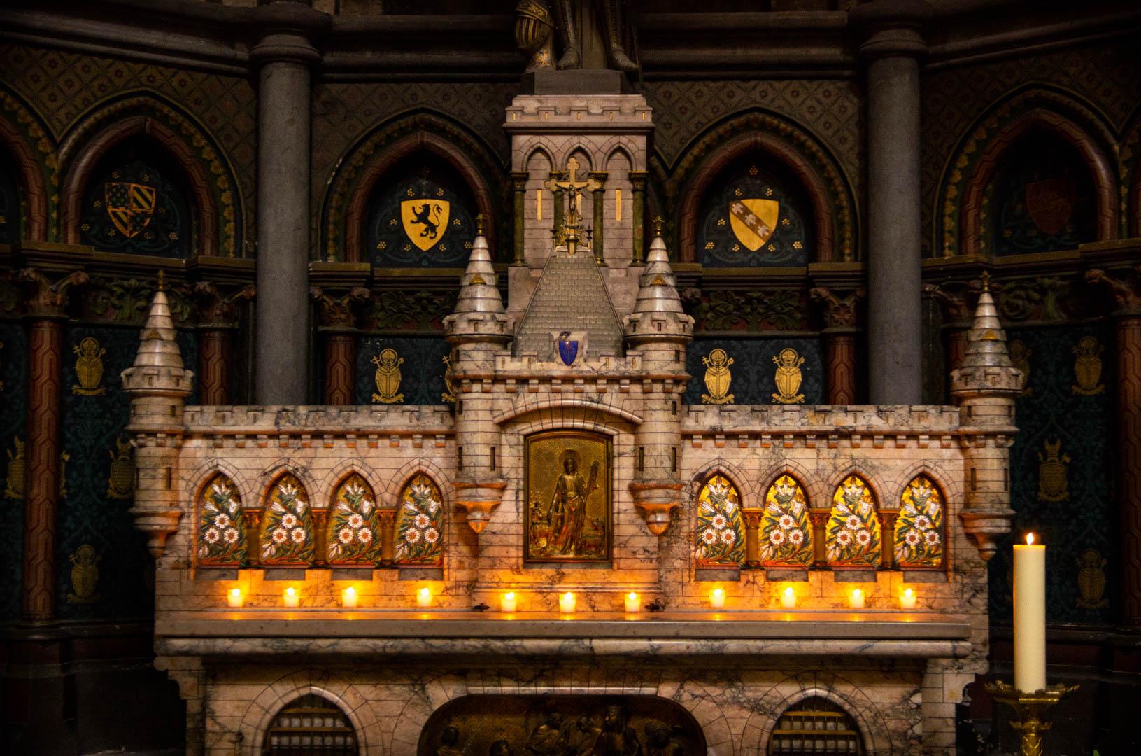 chapelle jeanne d arc autel cathedrale notre dame de la treille lille 3437