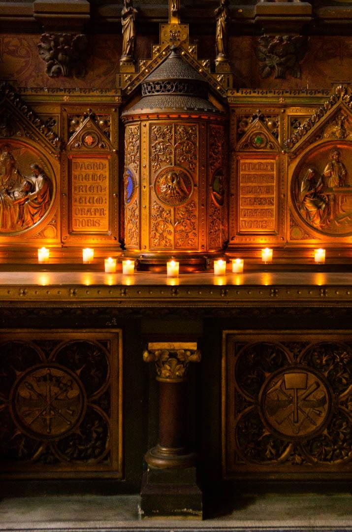 chapelle saint joseph nuit des cathedrales cathedrale notre dame de la treille lille 2431