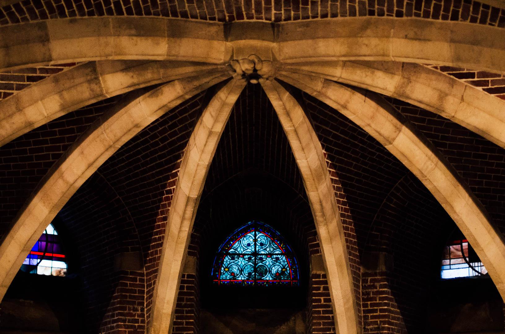 crypte néo gothique cathédrale notre dame de la treille lille 66198