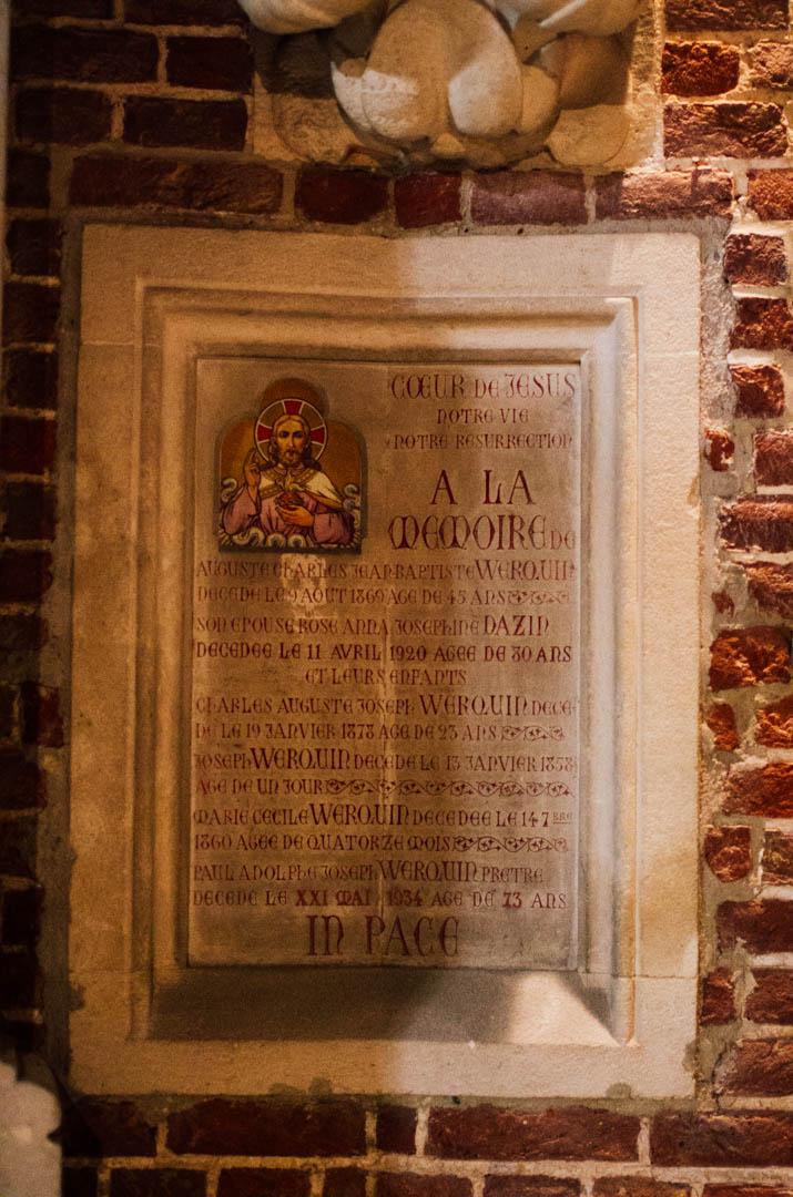 crypte néo gothique cathédrale notre dame de la treille lille 66200