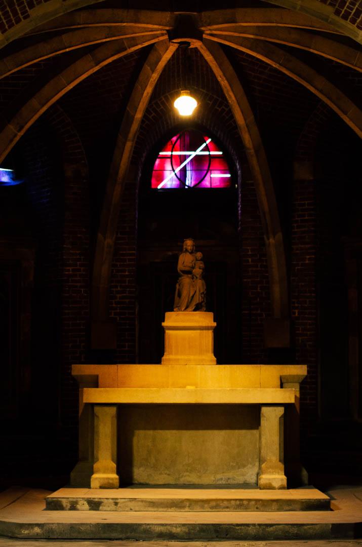 crypte néo gothique cathédrale notre dame de la treille lille 666194