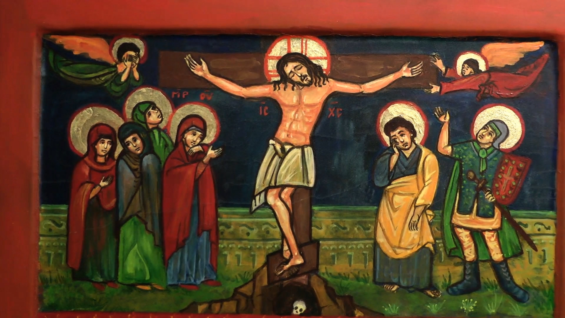 exposition icones christian compain cathedrale notre dame de la treille 110