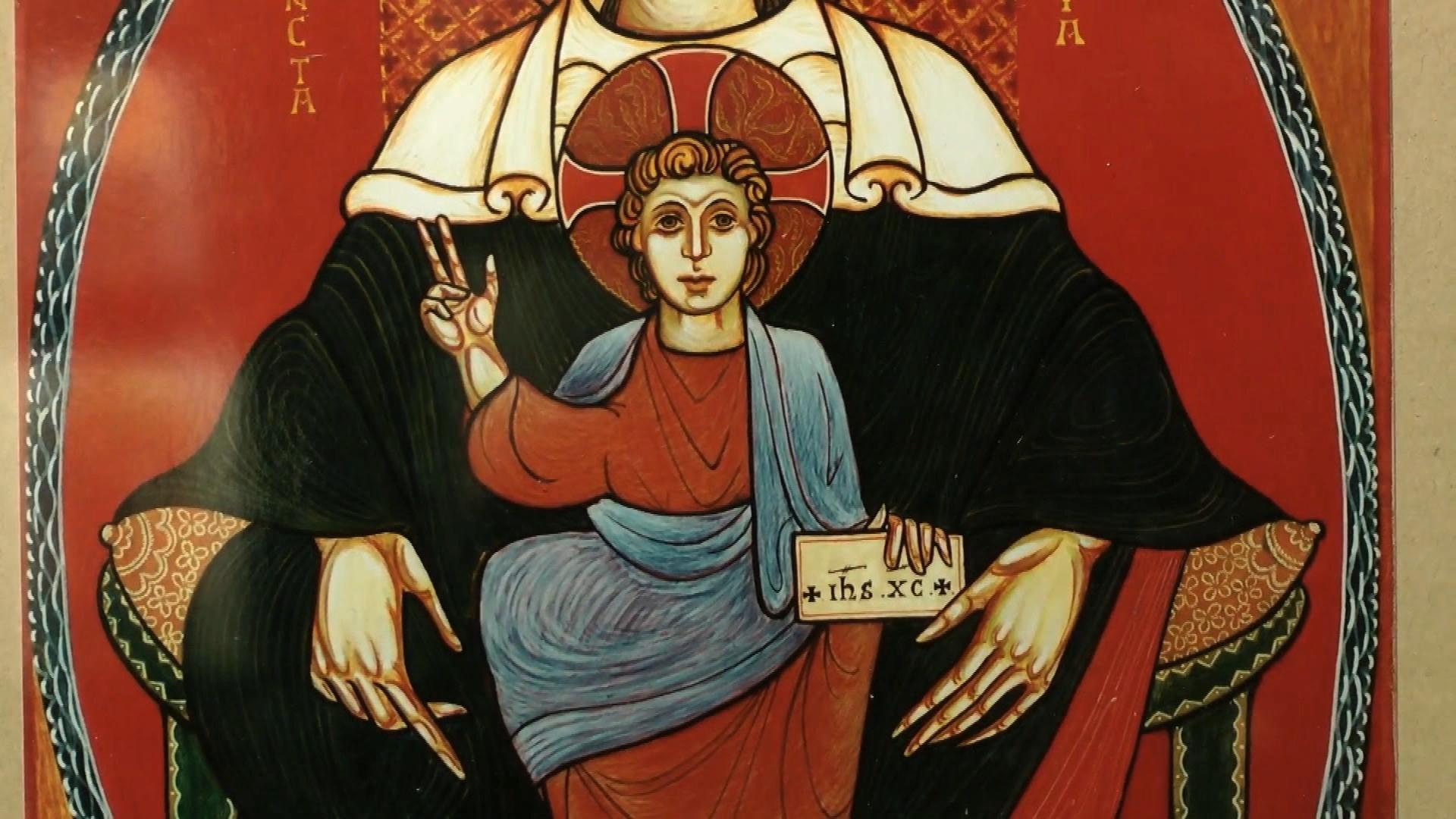 exposition icones christian compain cathedrale notre dame de la treille 4z00000