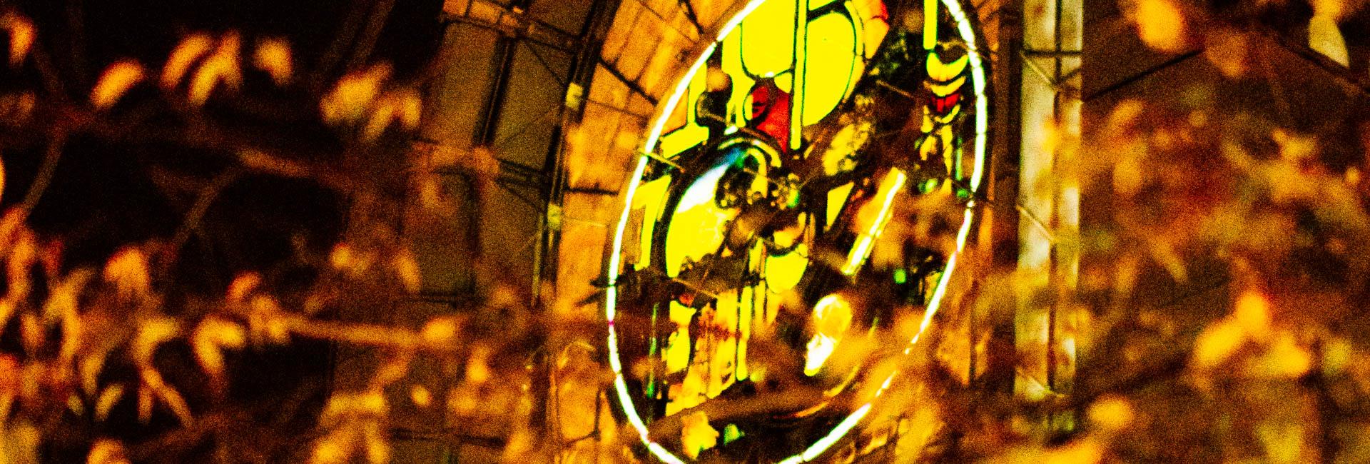 façade notre dame de la treille cathédrale lille 62180 rosace kijno