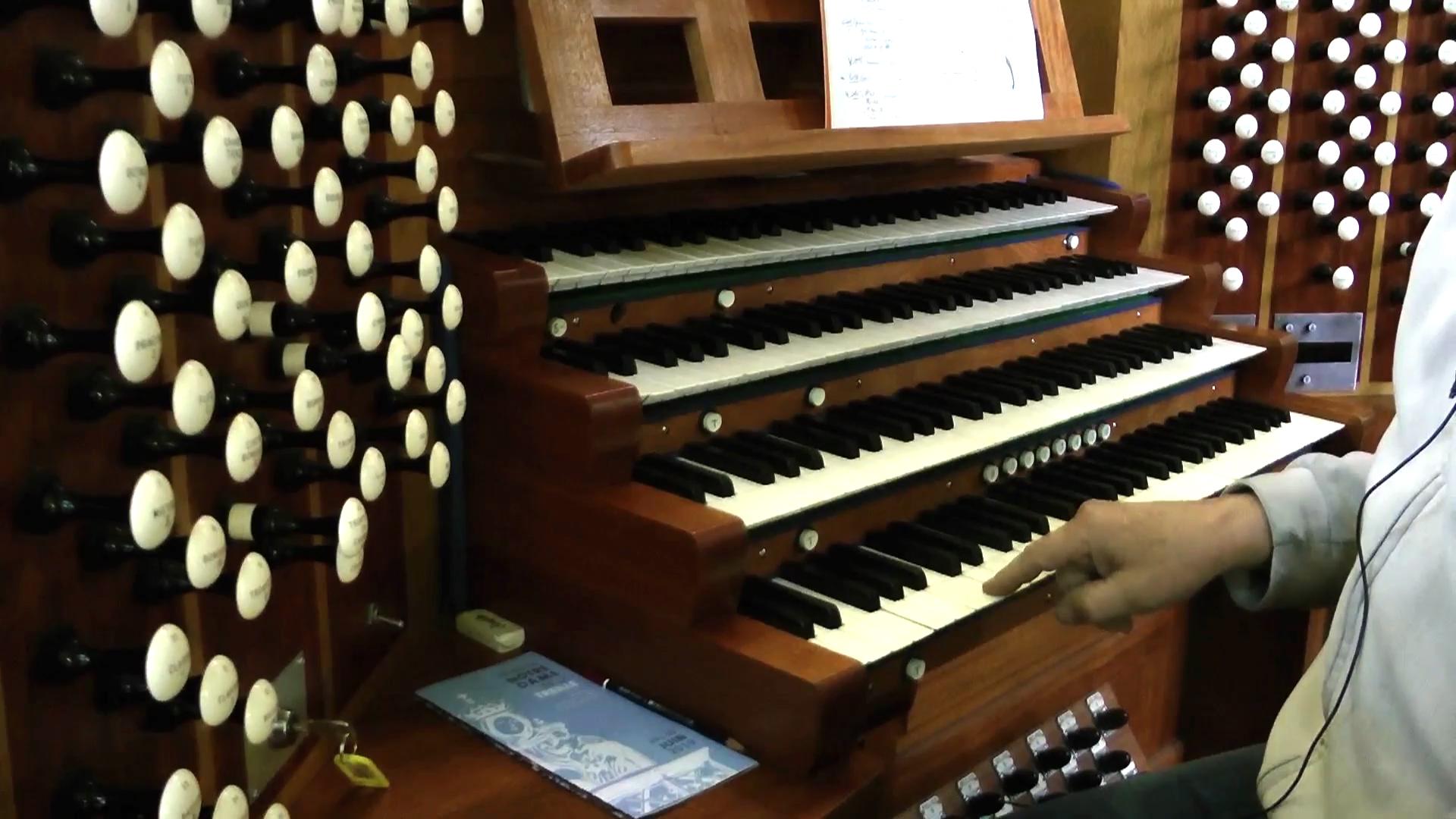 grandes orgues Danion – Gonzalez cathedrale notre dame de la treille 70
