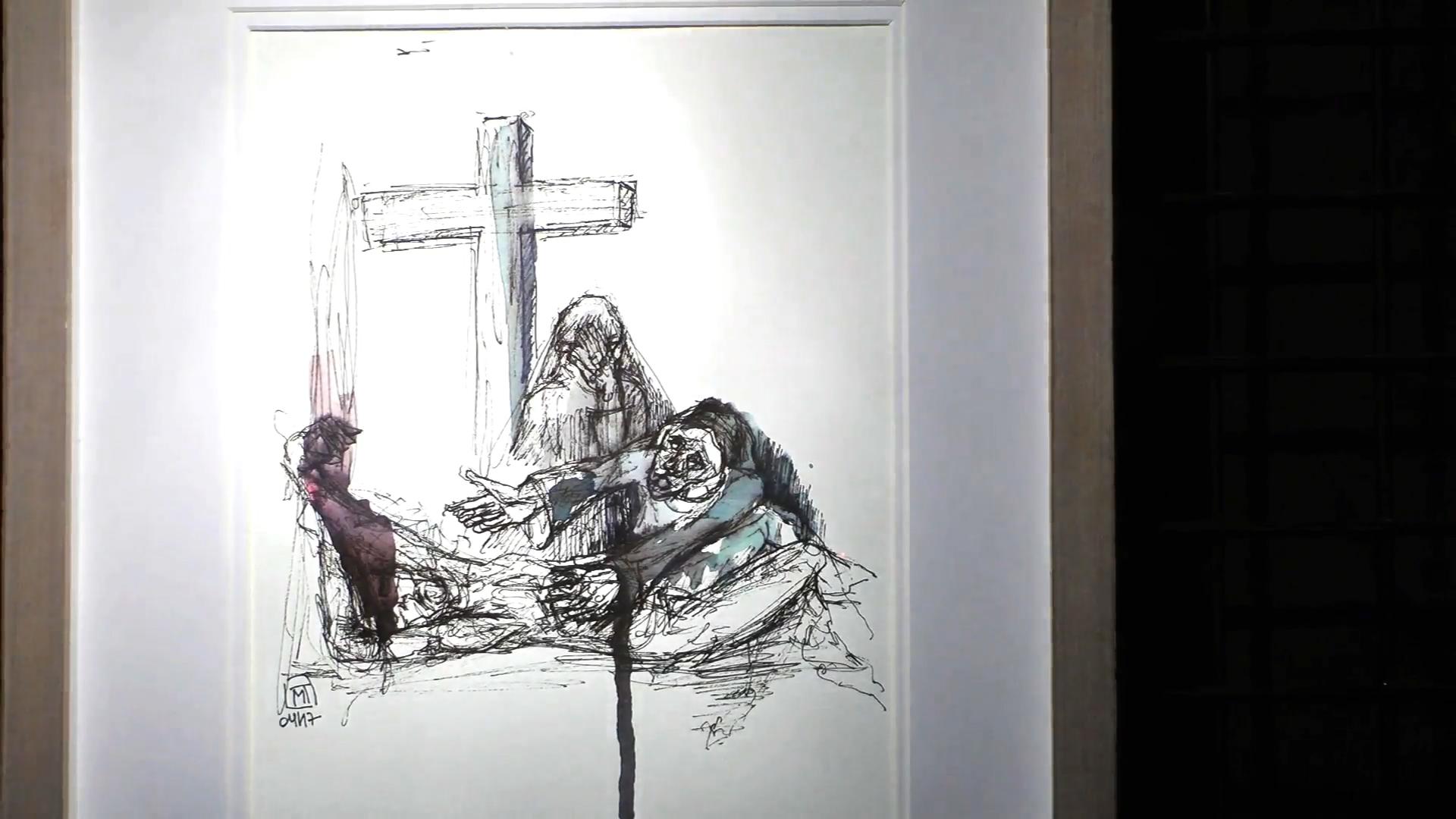 marlene tacniere chemin de croix cathedrale notre dame de la treille 40