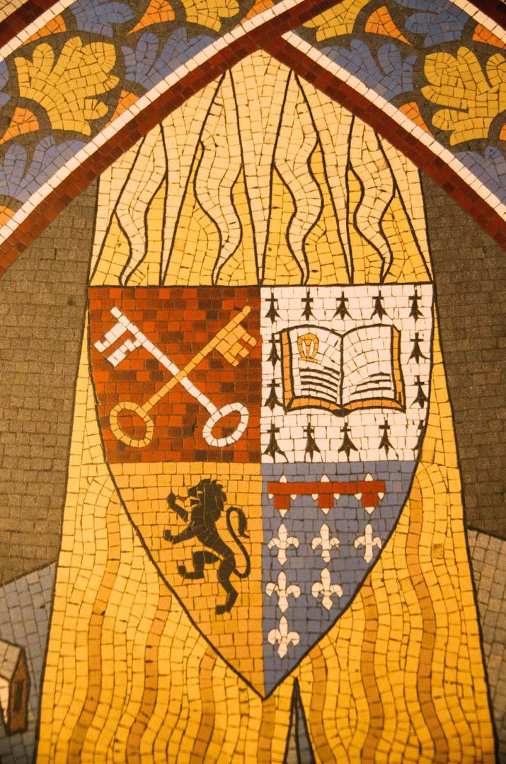 mosaique  chapelle absidiale cathédrale notre dame de la treille lille-232435