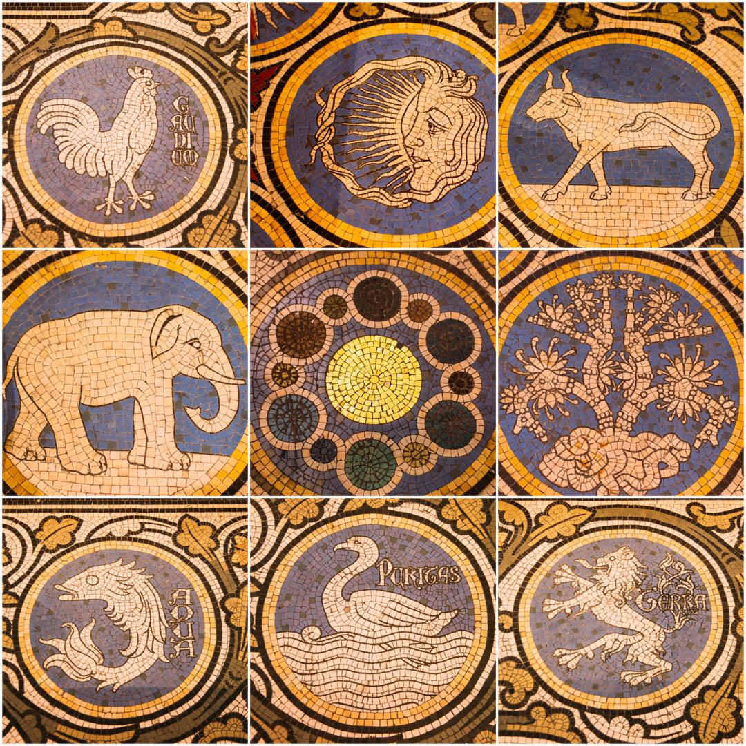 mosaique  chapelle absidiale cathédrale notre dame de la treille lille-236