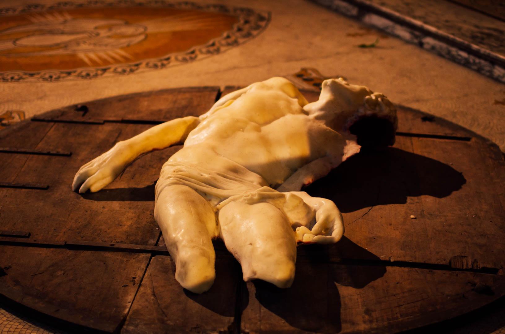 pieta gasperini oeuvre art cathedrale notre dame de la treille lille 83