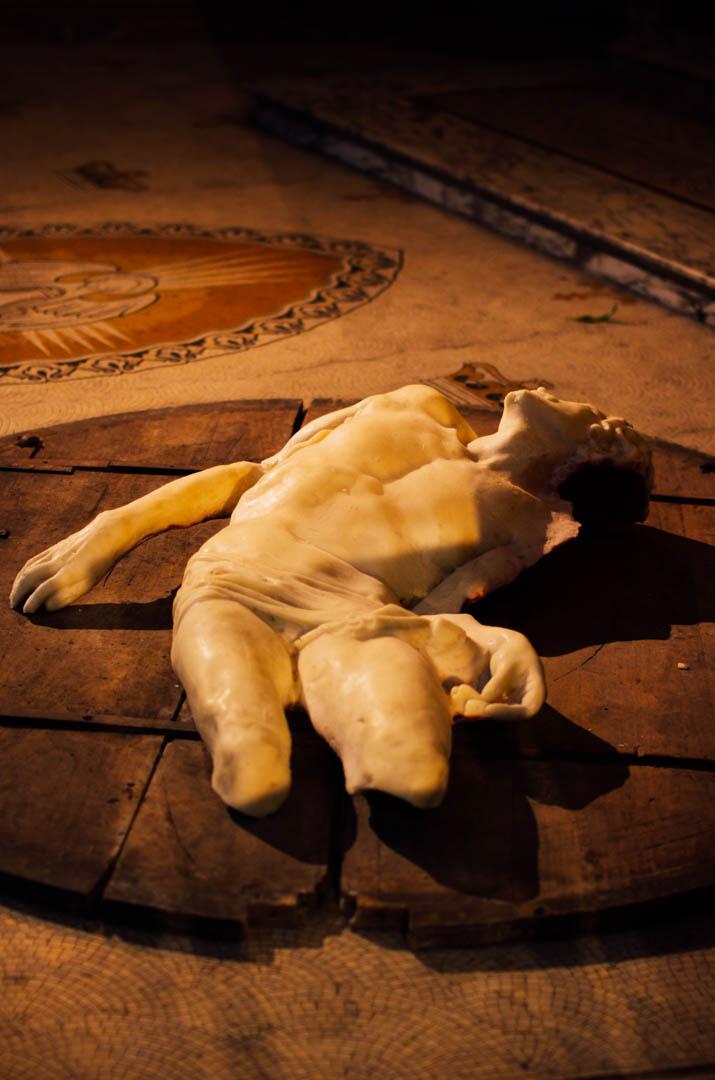 pieta gasperini oeuvre art cathedrale notre dame de la treille lille