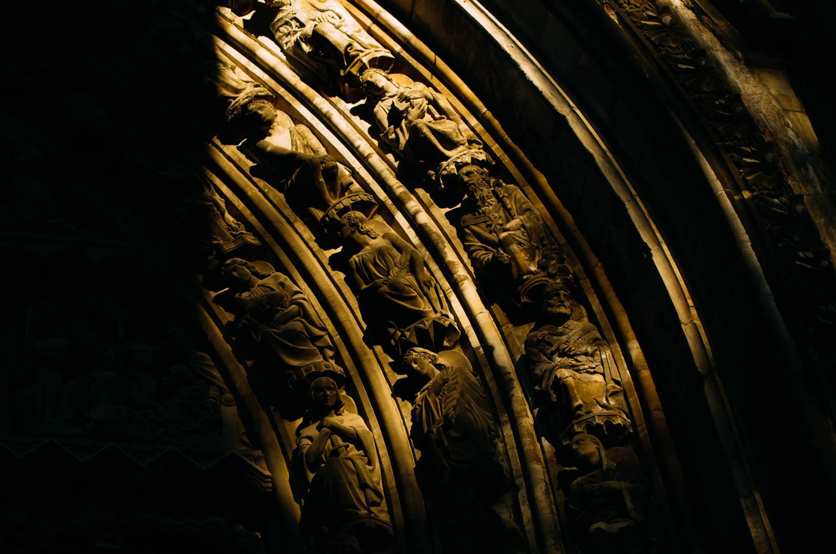 portail saint eubert cathédrale notre dame de la treille lille 5991