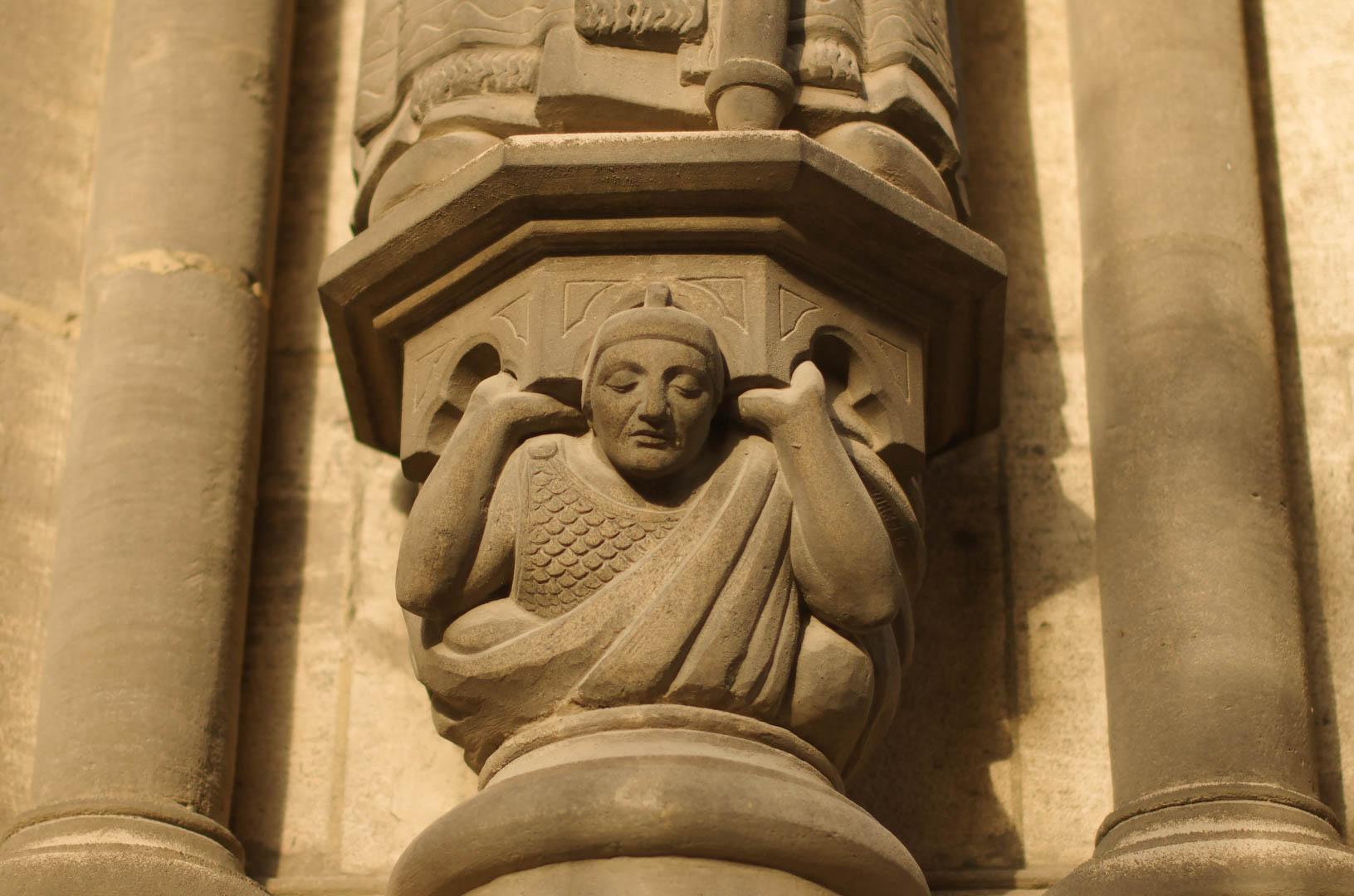 portail saint eubert cathédrale notre dame de la treille lille 6009