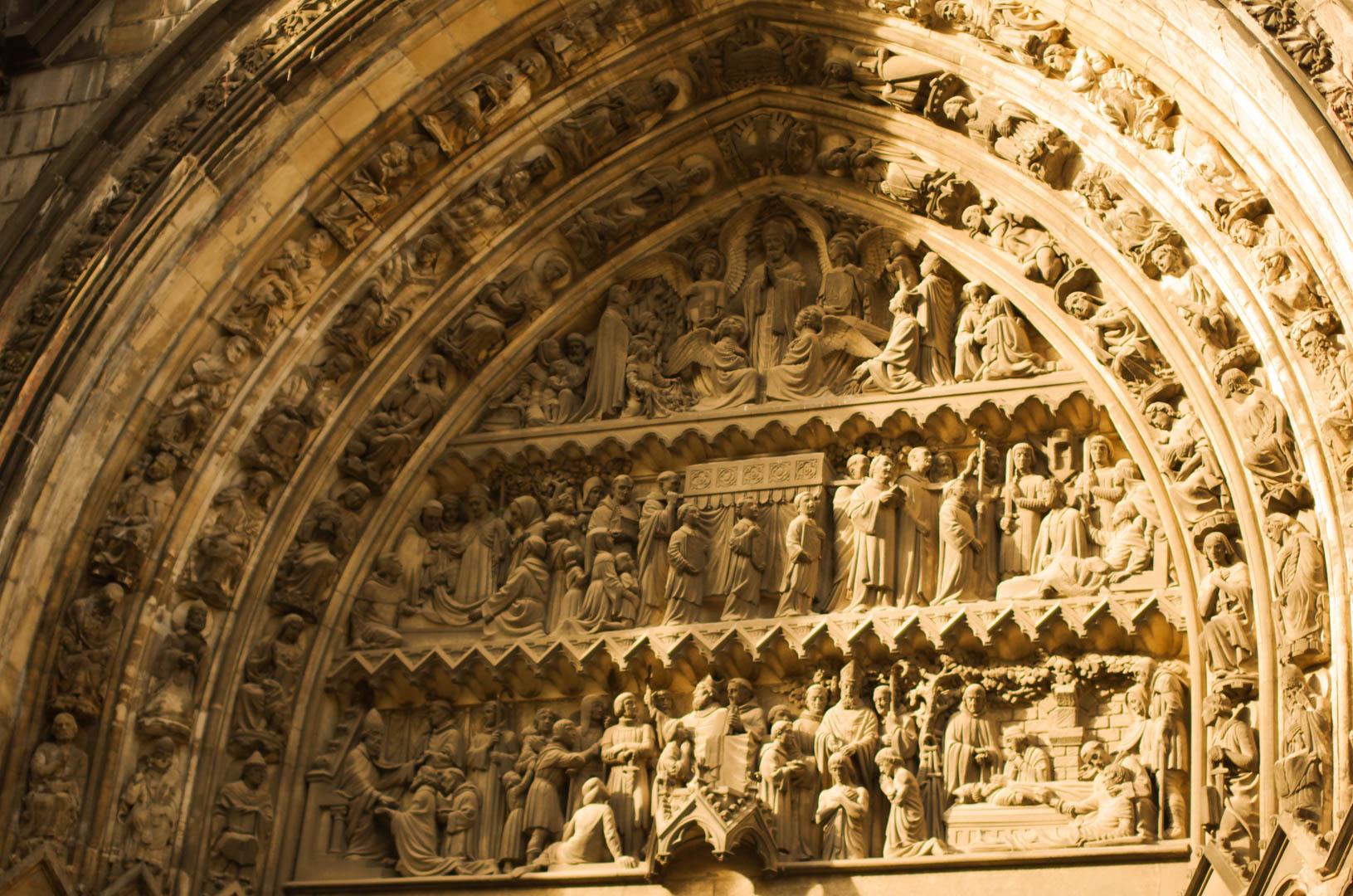 portail saint eubert cathédrale notre dame de la treille lille 6014