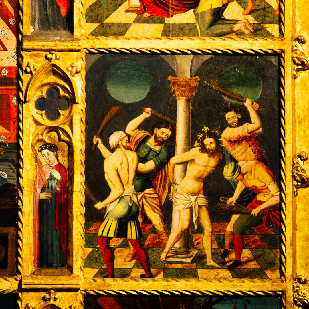 retable du rosaire cathédrale notre dame de la treille lille 2665
