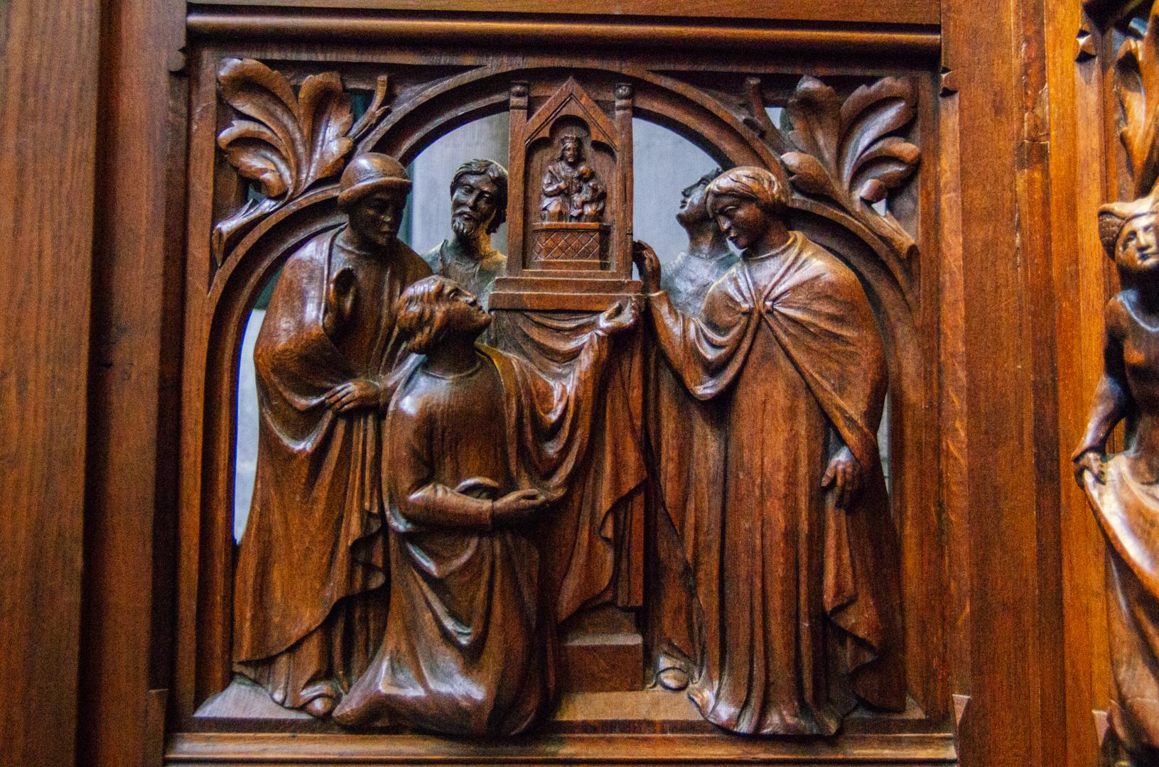 stalles miracles cathédrale notre dame de la treille lille 779