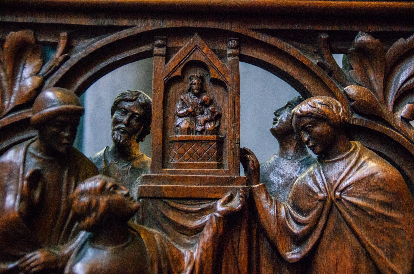 stalles miracles cathédrale notre dame de la treille lille 780