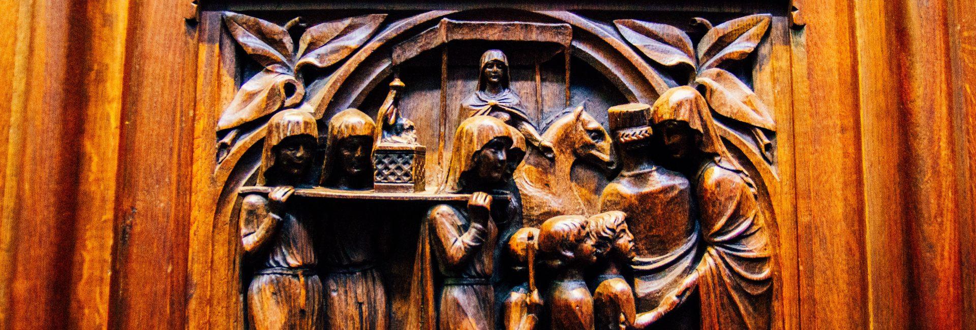 stalles procession cathedrale notre dame de la treille