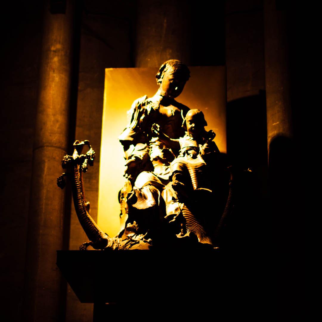 statue jeanclos cathédrale notre dame de la treille lille 290