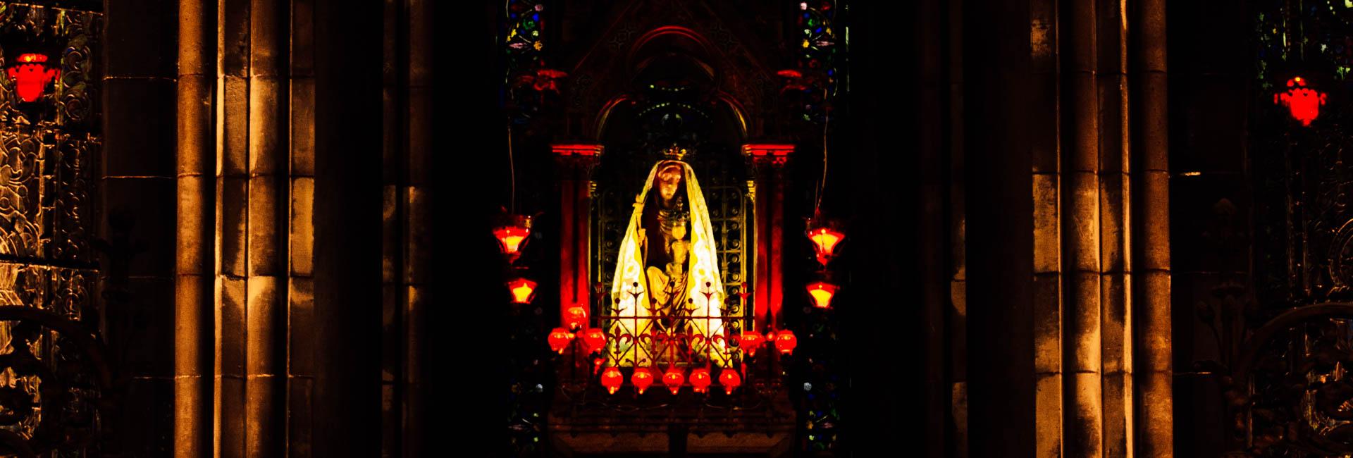 treille statue treille chapelle absidiale cathédrale notre dame de la treille lille-2