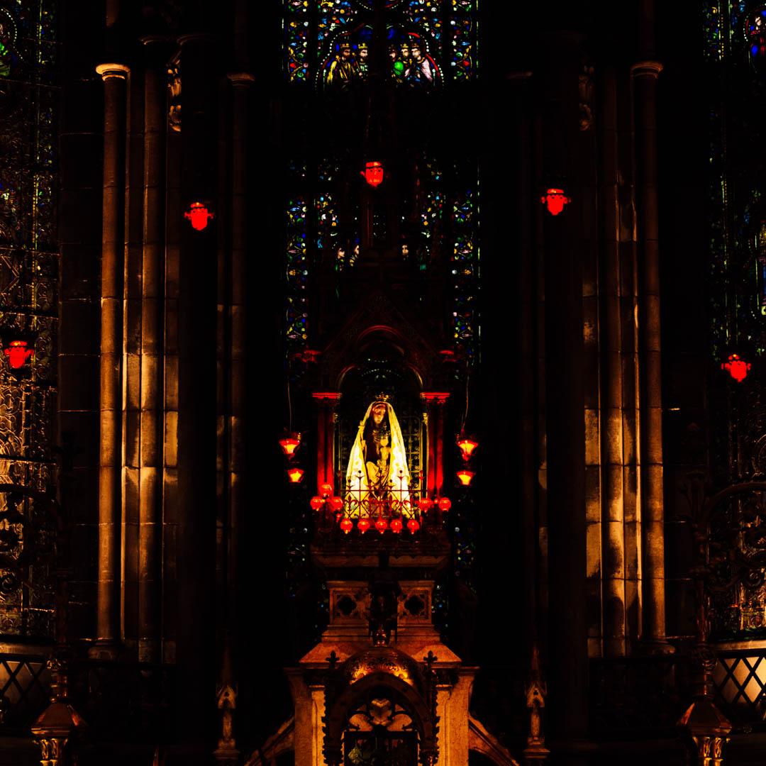 treille statue treille chapelle absidiale cathédrale notre dame de la treille lille-26130