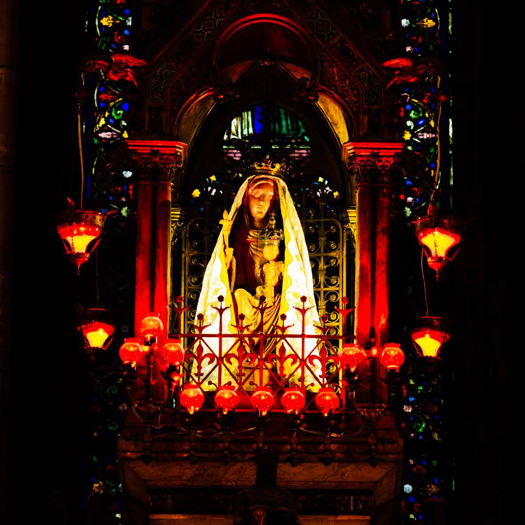 treille statue treille chapelle absidiale cathédrale notre dame de la treille lille-6128