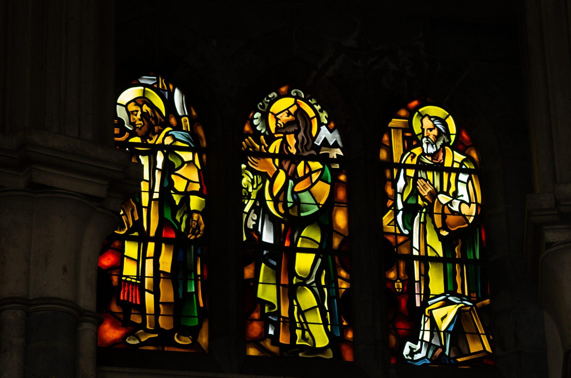 vitrail cathédrale notre dame de la treille lille 676