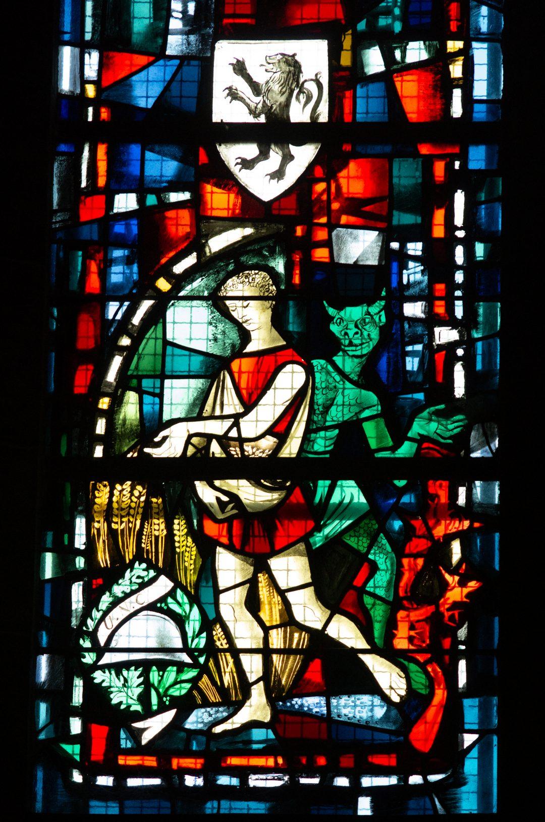 vitrail cathédrale notre dame de la treille lille P2621