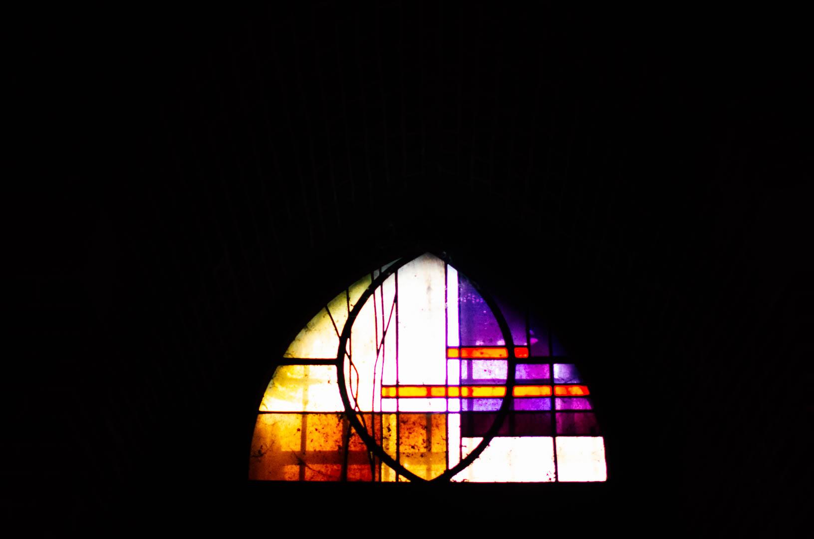 vitraux crype néo gothique cathédrale notre dame de la treille lille 66216