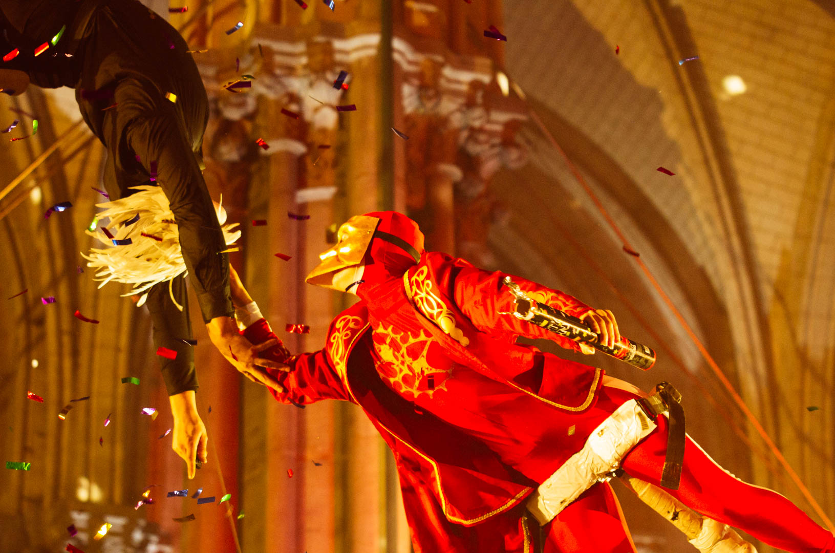 spectacle les sonneurs de noël cathédrale notre dame de la treille 233