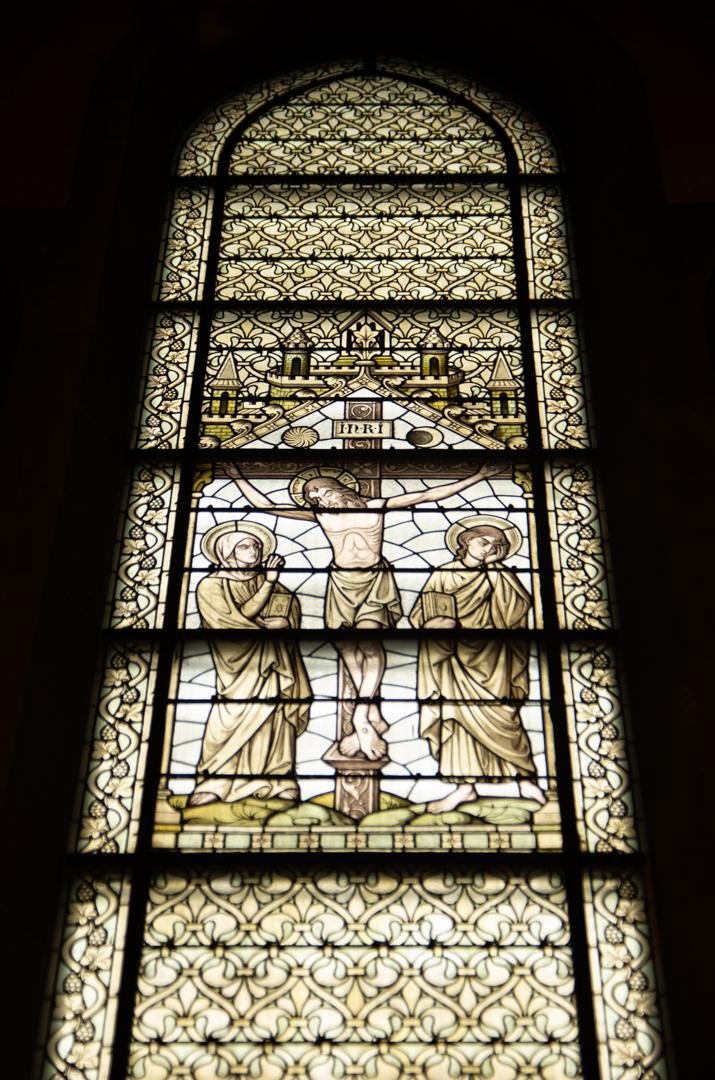 vitrail chapelle capitulaire cathédrale notre dame de la treille 2
