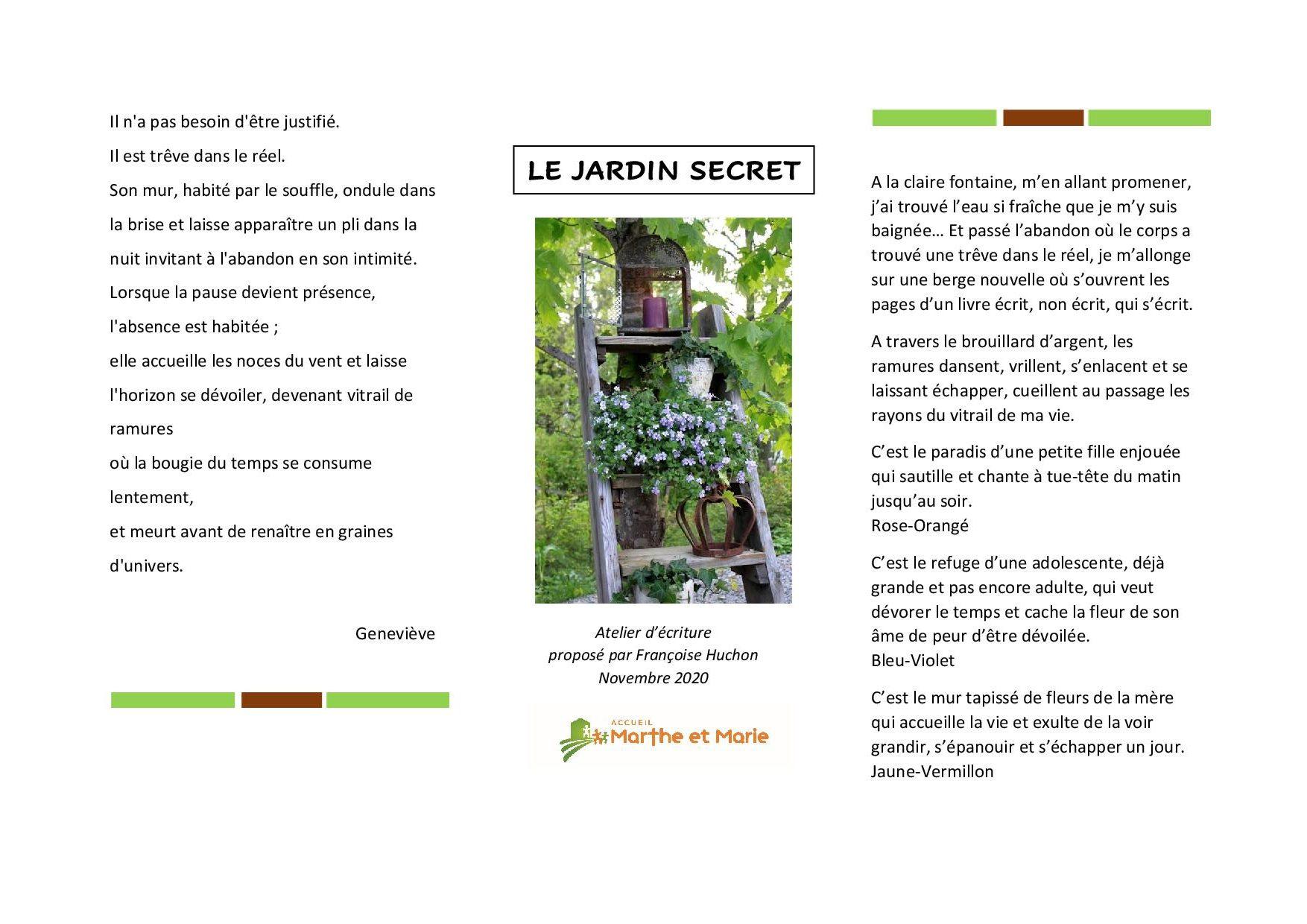 201119 le jardin secret recueil de textes1