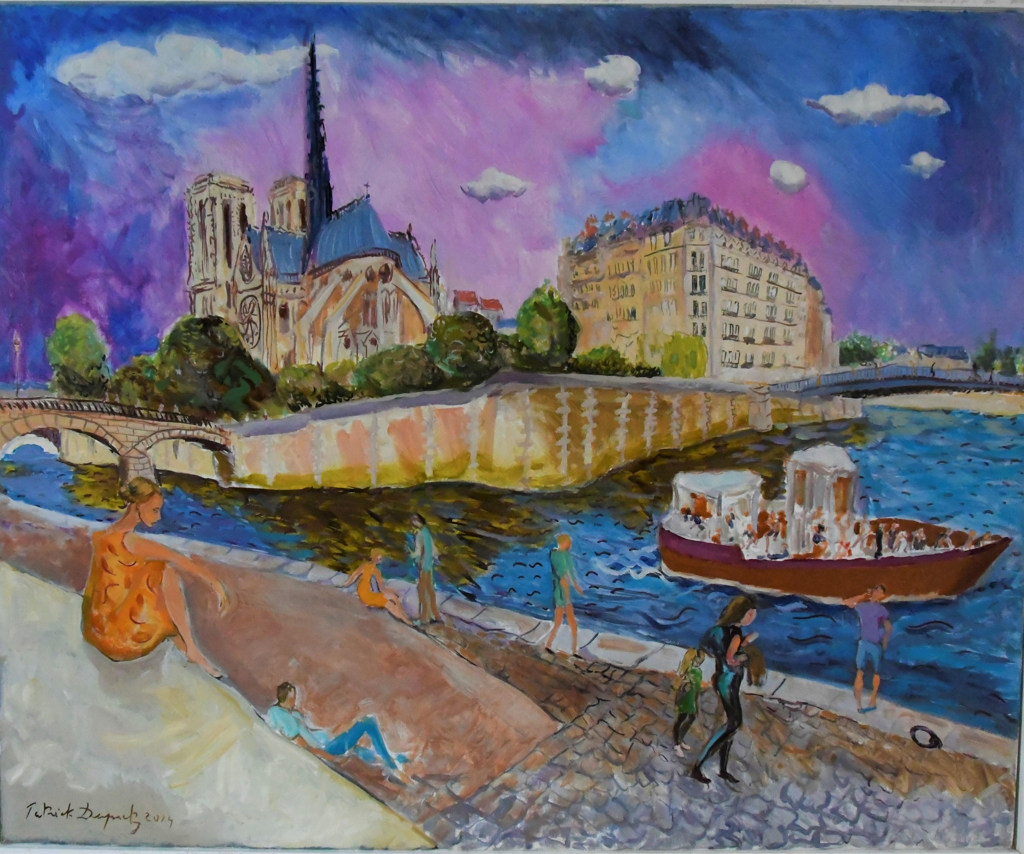 Paris Notre Dame retouches