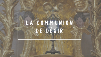 Chapeau Article communion de désir