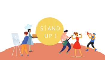 Stand Up - Festival des Arts
