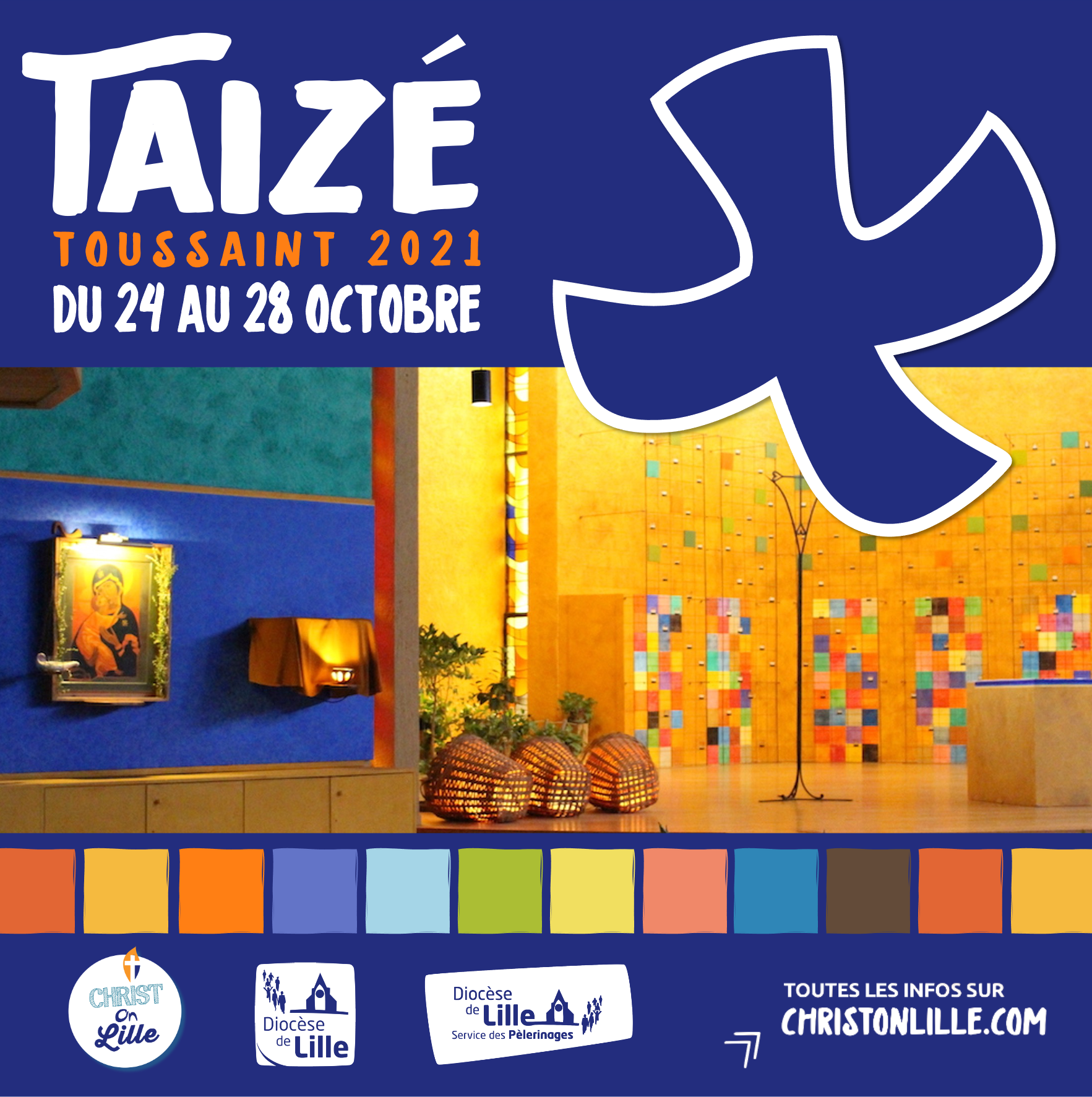Image d'illustration Taizé 2021