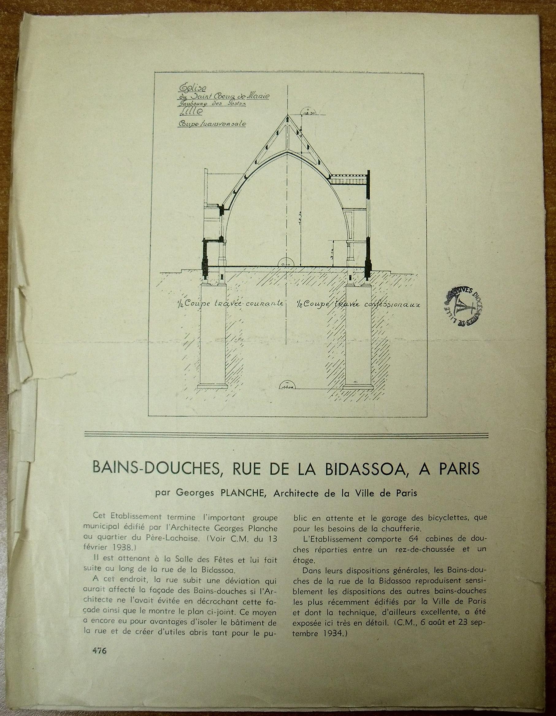 Revue de 1938 sur CIM 6